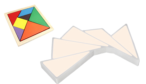 七巧板系列设计灵感 七巧板系列产品情景展示