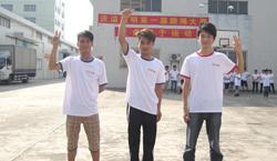庆溢照明-第一届跳绳冠亚季军