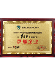 CCTV 9 华商荟展播企业