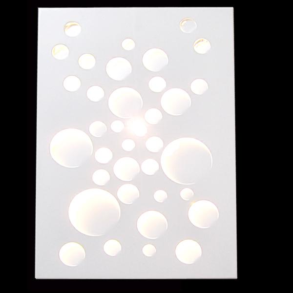 庆溢照明  壁灯系列  LED-BL9902/B 气泡