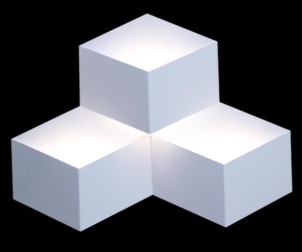 庆溢照明  壁灯系列   LED-BL9905/3 菱形