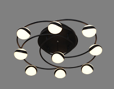 LED-GL190501 球星系列